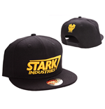 Iron Man Adjustable Cap Stark Yellow Logo