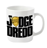 2000AD Judge Dredd Mug Dredd Badge