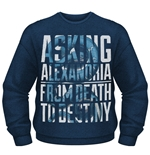 Asking Alexandria Sweatshirt Snakes