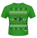 Star Wars T-shirt Yoda Fair Isle