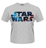 Star Wars T-shirt Space Logo