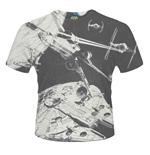 Star Wars T-shirt Space Battle