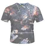 Star Wars T-shirt Huge Space Battle