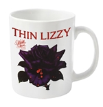 Thin Lizzy Mug Black Rose