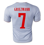 2014-15 Athletico Madrid Away Shirt (Griezmann 7)