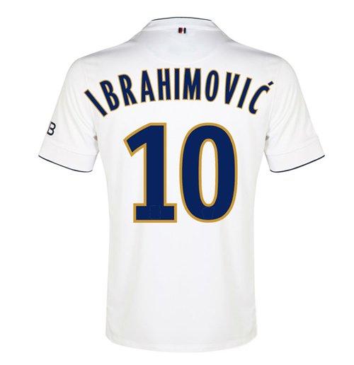 best service cef7f 6ac95 2014-15 PSG Away Shirt (Ibrahimovic 10) - Kids