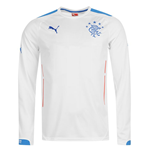 2014-15 Rangers Puma Away Long Sleeve Shirt (Kids)