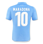 2014-15 Napoli Authentic Home Shirt (Maradona 10)