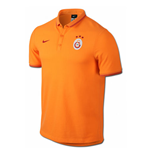 2014-2015 Galatasaray Nike Authentic League Polo Shirt (Orange)