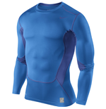 Nike Hypercool Compression LS Top (Blue)