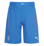 2014-2015 Rangers Away Football Shorts (Blue) - Kids