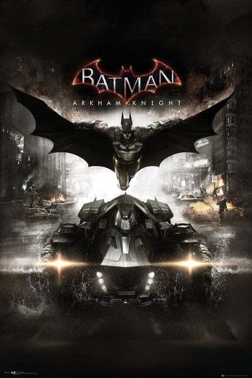 Batman Arkham Knight Cover Maxi Poster