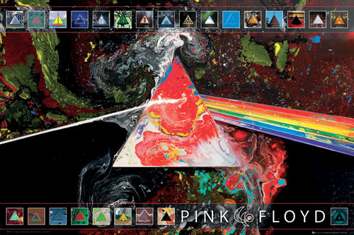 Pink Floyd 40th Anniversary Maxi Poster