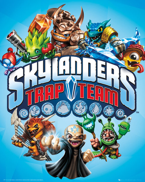 Skylanders Trap Team 2 Mini Poster