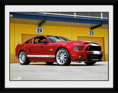 Ford Shelby GT500 Framed Collector Print