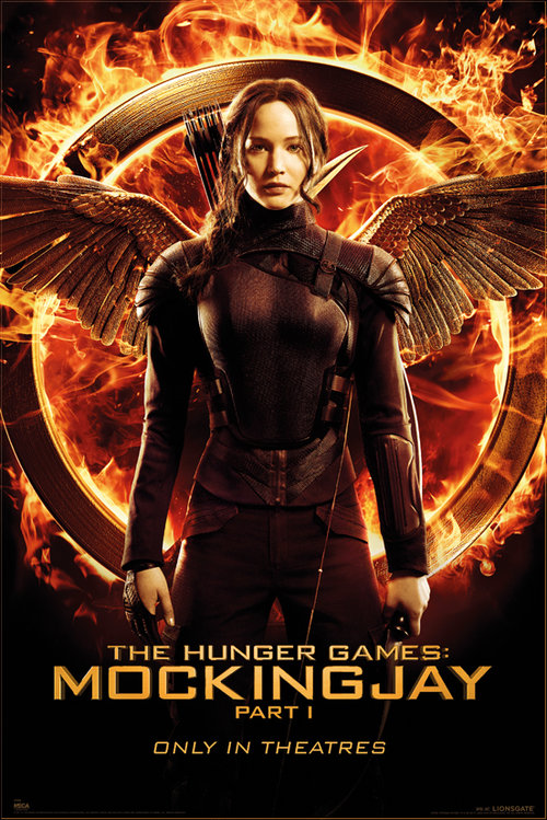 The Hunger Games Mockingjay Katniss One Sheet Maxi Poster