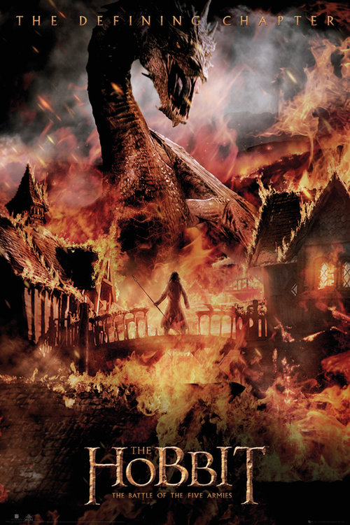 The Hobbit Battle of Five Armies Dragon Maxi Poster