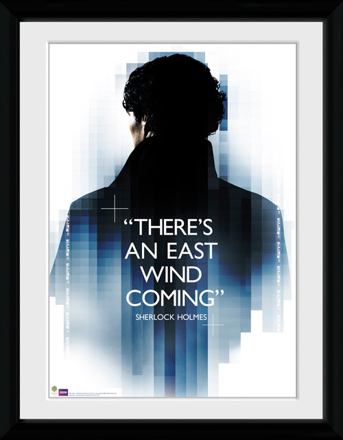 Sherlock East Wind Framed Collector Print