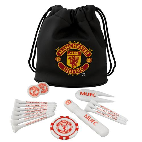 Manchester United F.C. Tote Bag Golf Gift Set