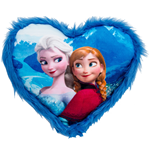 Frozen Plush Cushion Elsa & Anna 33 x 33 cm