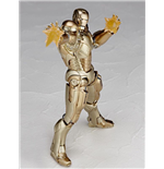 Iron Man Action Figure Sci-Fi Revoltech #052 Iron Man Mark XXI 16 cm