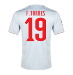 2014-15 Athletico Madrid Away Shirt (F.Torres 19)