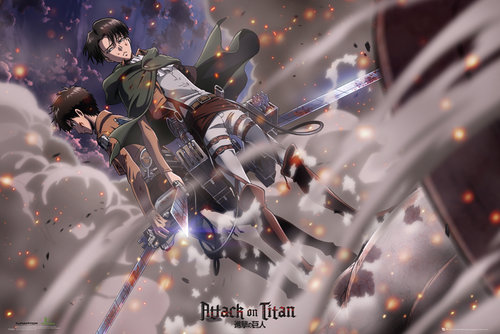 Attack on Titan Battle Maxi Poster