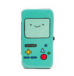 ADVENTURE TIME BMO Gaming Device Hinge Purse, Turquoise