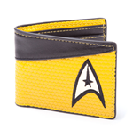 Star Trek Wallet Bifold Command Logo Yellow
