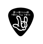"Fender ""Heavy"" Guitar Pick - Alto Ritmo Rock Big Band Merch"