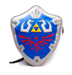 NINTENDO Legend of Zelda Link's Hylian Shield Backpack, Silver/Blue