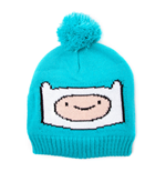 ADVENTURE TIME Finn Bobble Beanie, Turquoise