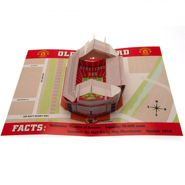 Manchester United F.C. Pop-Up Birthday Card