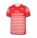 2014-2015 Arsenal Puma Pre-Match Training Shirt (Red-White) - Kids