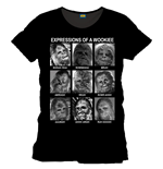 Star Wars T-Shirt Emotions Of A Wookie