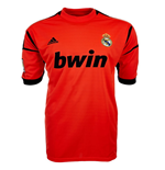 2012-2013 Real Madrid Adidas Home Goalkeeper Shirt