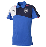 2015-2016 Italy Puma Stadium Polo Shirt (Blue)