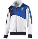 2015-2016 Italy Puma Walkout Jacket (White) - Kids