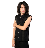 Aderlass Prick Vest Denim