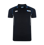 England RWC 2015 Winger Plain Polo Shirt (Black)