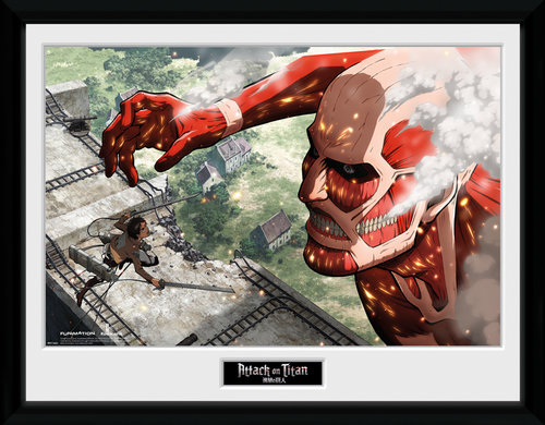 Attack On Titan Titan Framed Collector Print
