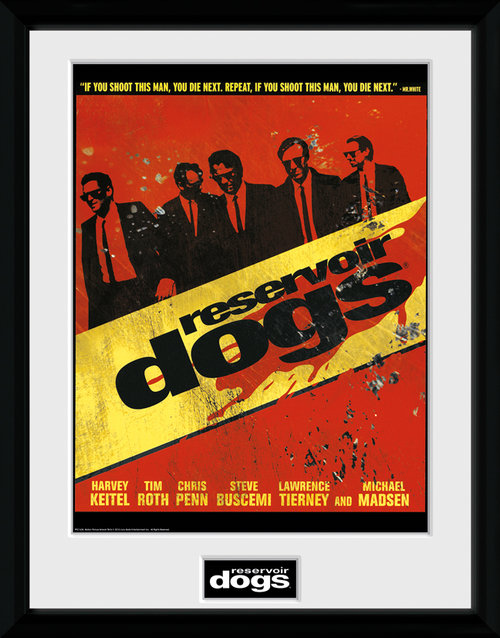Reservoir Dogs Walk Framed Collector Print