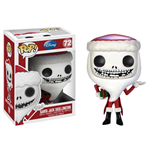 Nightmare Before Christmas POP! Vinyl Figure Santa Jack Skellington 10 cm