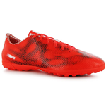 adidas F10 Astroturf Mens Football Boots (Red-White-Black)