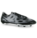 adidas F10 FG Mens Football Boots (Core Black-Silver)
