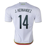 2015-2016 Mexico Adidas Away Shirt (J.Hernandez 14)