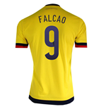 2015-2016 Colombia Adidas Home Shirt (Falcao 9)