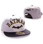 Batman Adjustable Cap Text Old Logo