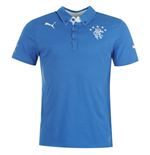 2014-15 Rangers Puma Leisure Polo Shirt (Blue) - Kids