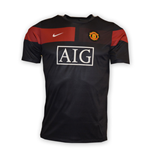 2010-11 Man Utd Pre-Match Training Shirt (Black) - Kids